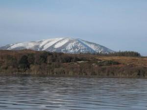 Widok z jeziora Cullin