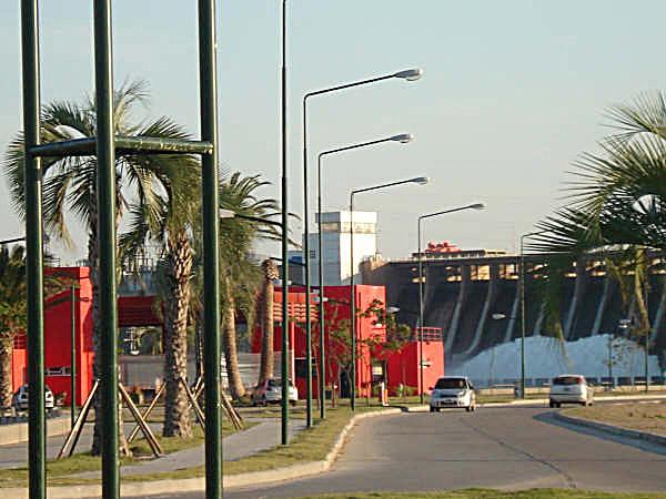 Zapora - Argentyna - Las Termas Rio Hondo - Dorada - www.przewodnicywedkarscy.pl