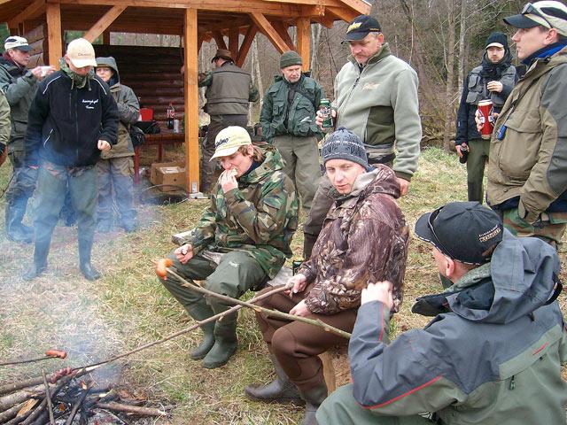 Warsztaty pstrągowe Łupawa 2010 - www.przewodnicywedkarscy.pl - Wyprawy na ryby
