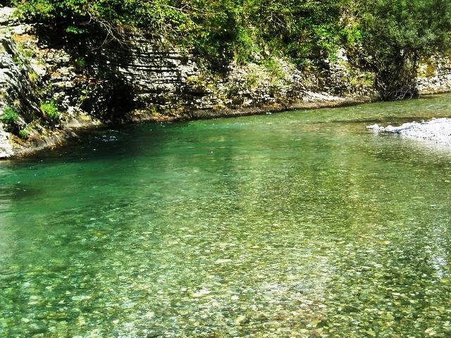 Rzeka Baca - Słowenia - www.przewodnicywedkarscy.pl - Wyprawy na pstrągi