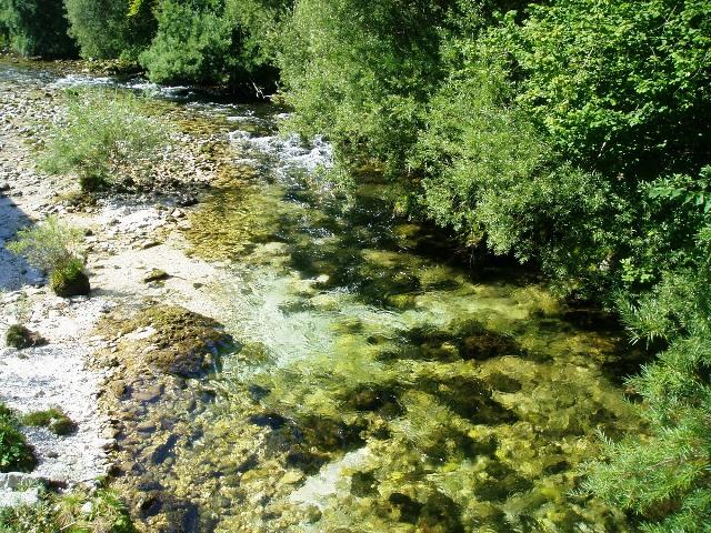 Rzeka Radovna - Słowenia - www.przewodnicywedkarscy.pl - Wyprawy na pstrągi