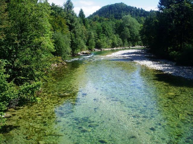 Rzeka Sava Bohinjka - Słowenia - www.przewodnicywedkarscy.pl - Wyprawy na pstrągi