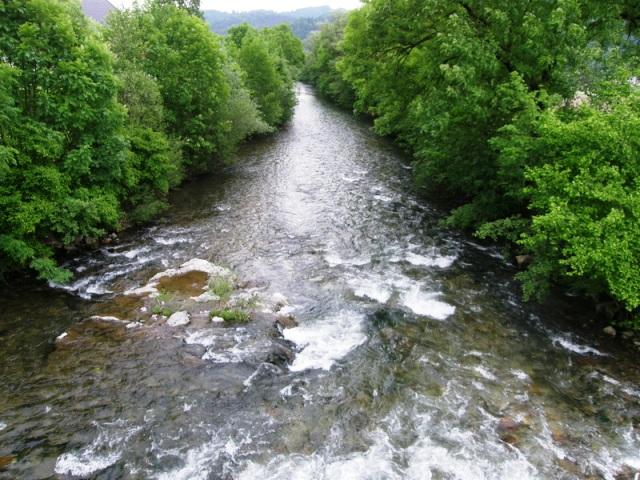 Rzeka Sora - Słowenia - www.przewodnicywedkarscy.pl - Wyprawy na pstrągi