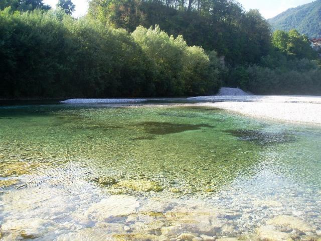 Rzeka Tolminka - Słowenia - www.przewodnicywedkarscy.pl - Wyprawy na pstrągi