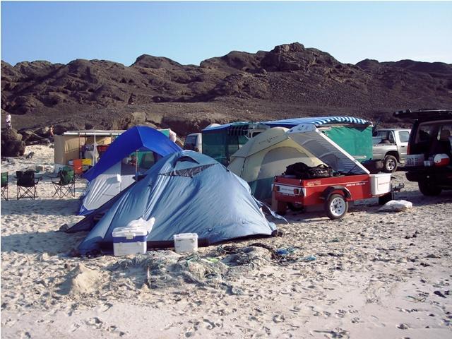 Obozowisko Oman - Ras Madrakah - Morze Arabskie - wyprawy wędkarskie - www.przewodnicywedkarscy.pl