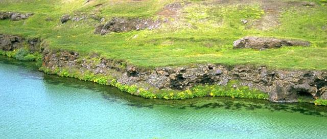 Woda w islandzkiej rzece - www.przewodnicywedkarscy.pl - Wyprawy wędkarskie