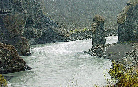 Rzeka w Islandii - www.przewodnicywedkarscy.pl - Wyprawy wędkarskie