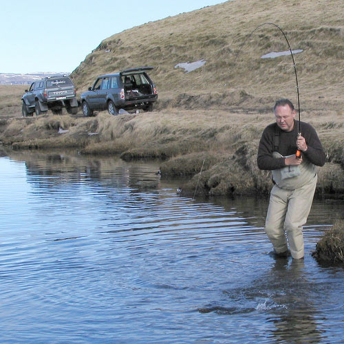 Islandia - Hol ryby i dojazd samochodem terenowym - www.przewodnicywedkarscy.pl - Wyprawy wędkarskie
