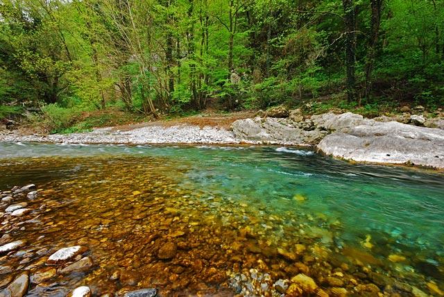 Piękna Baca - Słowenia - Łowienie na muchę - www.przewodnicywedkarscy.pl - Wyprawy wędkarskie