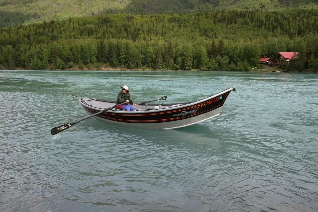 Alaska - łódź - www.przewodnicywedkarscy.pl - Wyprawy wędkarskie