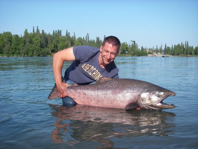Alaska - wielki King Salmon - www.przewodnicywedkarscy.pl - Wyprawy wędkarskie