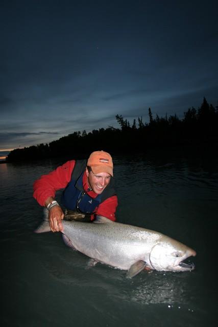 Alaska - wielki King - www.przewodnicywedkarscy.pl - Wyprawy wędkarskie
