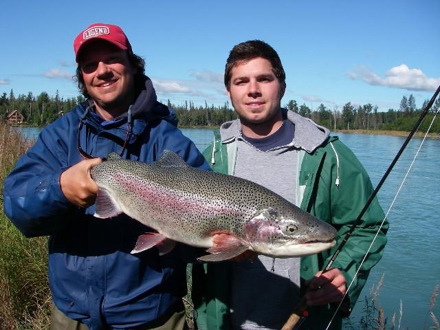 Alaska - nasz przewodnik Josh Hayes - www.przewodnicywedkarscy.pl - Wyprawy wędkarskie