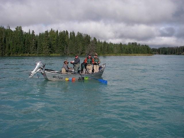 Alaska - łowienie z przewodnikiem - www.przewodnicywedkarscy.pl - Wyprawy wędkarskie