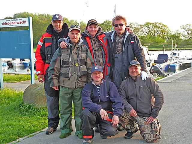 Grupa w komplecie - www.przewodnicywedkarscy.pl - Wyprawy wędkarskie