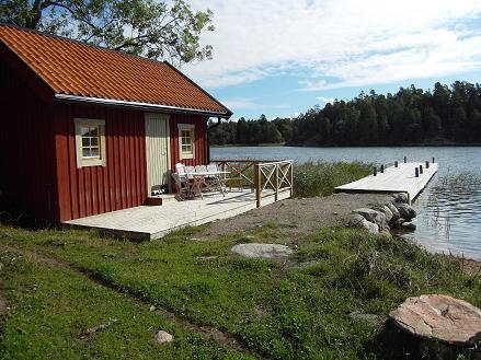 Sauna nad wodą - Szwecja - Szkiery Sztokholm - www.przewodnicywedkarscy.pl - Wyprawy wędkarskie